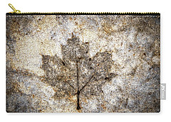 Leaf Imprint Carry-all Pouch