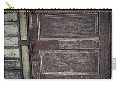 Leather Door Carry-all Pouch