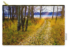 Leaves On Trail Carry-all Pouch