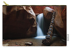Carry-all Pouch featuring the photograph Let It Flow by Tassanee Angiolillo