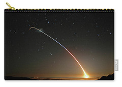 Lgm-118a Peacekeeper Missile Launch July 21 2004 Carry-all Pouch