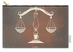 Libra Digital Art Carry-All Pouches