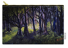 Light In The Forrest Carry-all Pouch