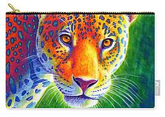 Light In The Rainforest - Jaguar Carry-all Pouch