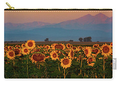 Light Of The Sunflowers Carry-all Pouch