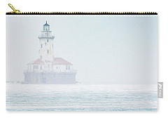Lighthouse In The Mist Carry-all Pouch
