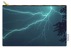 Lightning Grid Carry-all Pouch