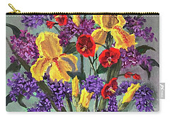 Lilac Days Carry-all Pouch