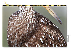 Carry-all Pouch featuring the photograph Limpkin by Rick Veldman