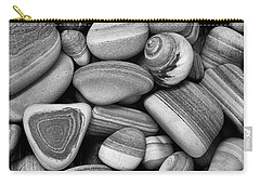 Lined Rocks And Shell Carry-all Pouch