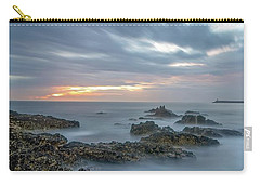 Carry-all Pouch featuring the photograph Lines - Matosinhos 2 by Bruno Rosa