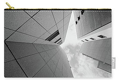 Carry-all Pouch featuring the photograph Lines - Matosinhos by Bruno Rosa