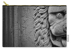 Lion Statue Portrait Carry-all Pouch