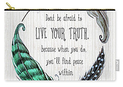 Live Your Truth Carry-all Pouch