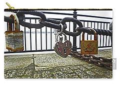 Liverpool. The Albert Dock. Eternal Love. Carry-all Pouch