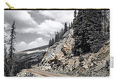 Carry-all Pouch featuring the photograph Living On The Edge by Melissa Lane