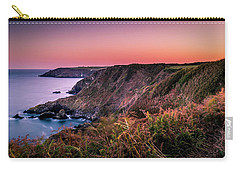 Lizard Point Sunset - Cornwall Carry-all Pouch