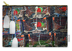 Lobster Traps Carry-all Pouch