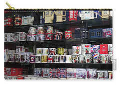 Carry-all Pouch featuring the photograph London England Shop Window by Rick Veldman