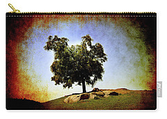 Lone Tree On The Hill Carry-all Pouch