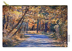 Carry-all Pouch featuring the photograph Long And Winding Road At Gordon's Pond by Bill Swartwout Fine Art Photography