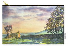 Long Shadows At Sunset Carry-all Pouch