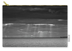 Carry-all Pouch featuring the photograph Long Way Home by Ricky L Jones