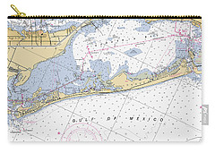 Longboat Ket Florida Noaa Nautical Chart Carry-all Pouch