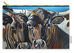 Longhorns, Interrupted Carry-all Pouch