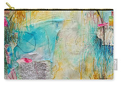 Carry-all Pouch featuring the painting Look How Far We've Come by Tracy Bonin