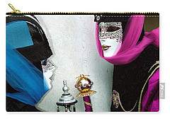 Carry-all Pouch featuring the photograph Looking Into Each Others Eyes by Donna Corless