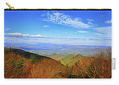 Carry-all Pouch featuring the photograph Looking Towards Vermont And New Hampshire by Raymond Salani III