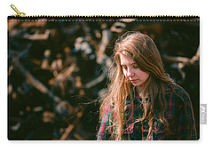 Carry-all Pouch featuring the photograph Lost In The Metal by Carl Young