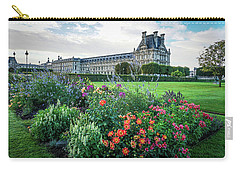 Carry-all Pouch featuring the photograph Louvre by Jim Mathis