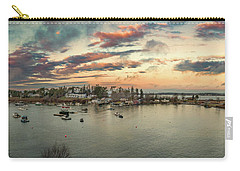 Carry-all Pouch featuring the photograph Mackerel Cove Sunrise by Guy Whiteley