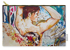 Carry-all Pouch featuring the painting Magic Loves The Hungry  by Rene Capone