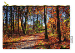 Carry-all Pouch featuring the photograph Magic Of The Forest by Edmund Nagele