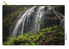 Magical Mystical Mossy Waterfall Carry-all Pouch