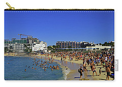 Carry-all Pouch featuring the photograph Maho Beach by Tony Murtagh