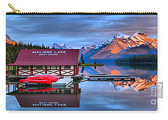 Maligne Lake Sunset Spectacular Carry-all Pouch