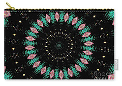 Carry-all Pouch featuring the photograph Mallard Duck Mandala by Debbie Stahre