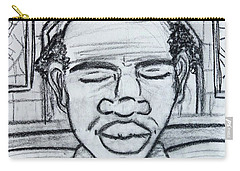 Man Praying  Carry-all Pouch