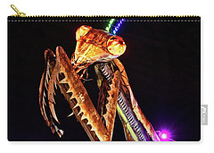 Carry-all Pouch featuring the photograph Mantis by Skip Hunt