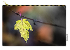 Carry-all Pouch featuring the photograph Maple Flag by Michael Arend