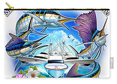 Marina Casa De Campo Open Art Carry-all Pouch