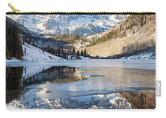 Maroon Bells Reflection Winter Carry-all Pouch