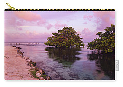 Mayan Sea Reflection Carry-all Pouch