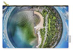 Carry-all Pouch featuring the photograph Mckinley Park Little Planet by Randy Scherkenbach