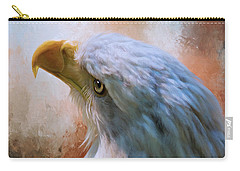 Carry-all Pouch featuring the photograph Meant To Be - Eagle Art by Jordan Blackstone