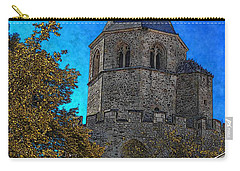 Medieval Bell Tower 3 Carry-all Pouch